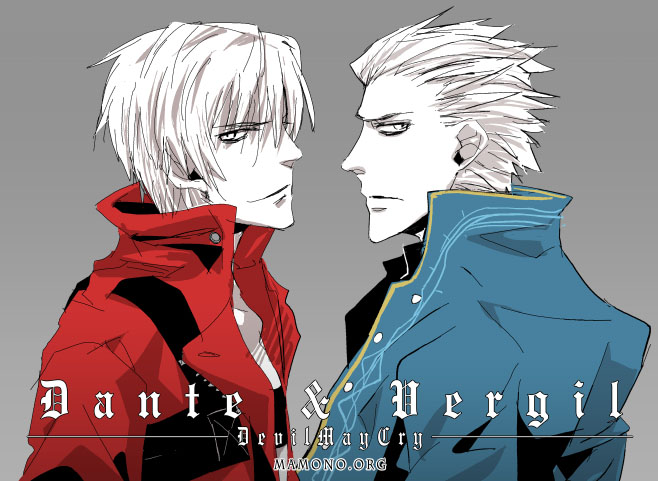 Devil May Cry Dante and Vergil by nemohmamono