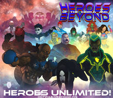 Heroes Unlimited by shaneoid77