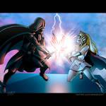 Darth Vader vs. She-Ra by shaneoid77