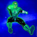 Silver Green Lantern