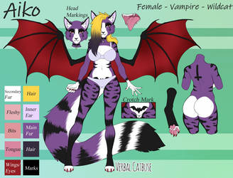 Aiko Reference Sheet [SFW]