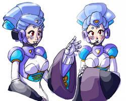 Reploid Snowwoman V2 by Dollwoman