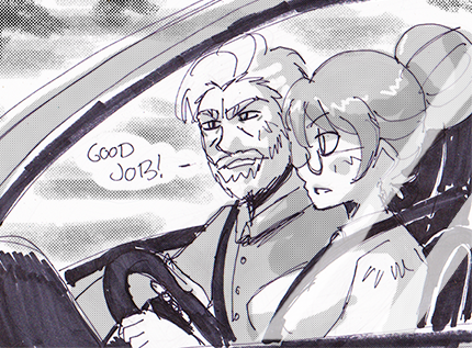 Dungeon and Driver Thumbnail by Dollwoman