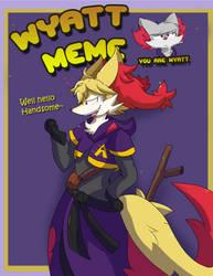 Wyatt Meme: Alazne by Dapuffster