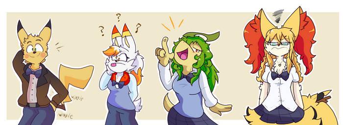 PKMN Fantasy-High: Buncha Goofballs
