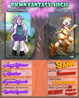 PKMN Fantasy High: Gotta Go Fast! Amy and Sanic