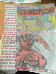 DeadPool by Kare-Bear117