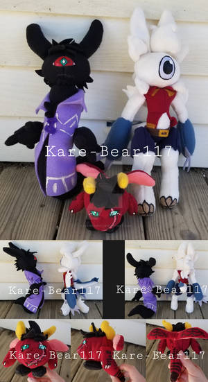 TheHonorlessRavage Plushies -GIFT-