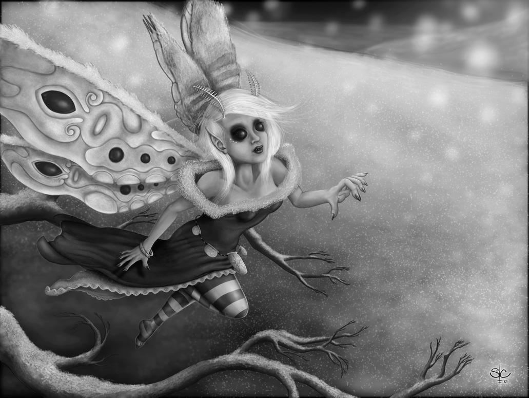 The Snow Fairy by samaelclayman