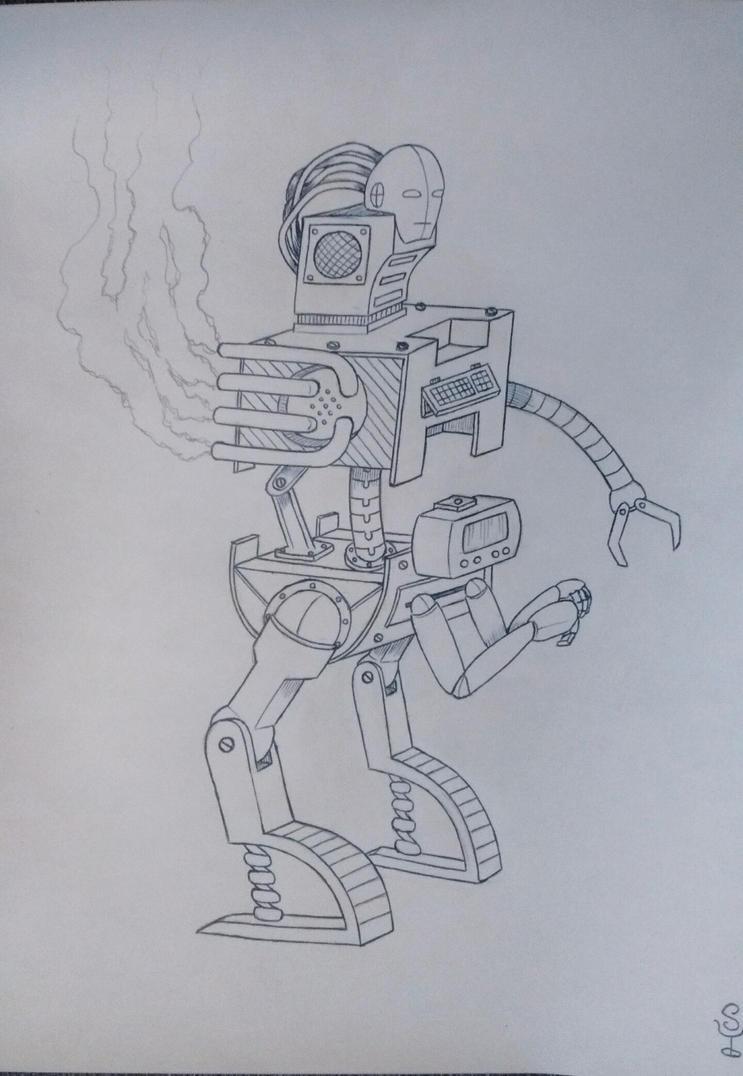 Robot #01 by samaelclayman