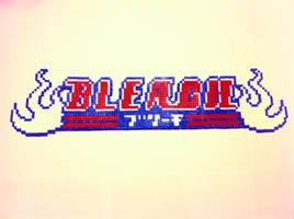 Bead Sprite - BLEACH Logo by satoshi-miyako