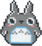 Bead Sprite - Totoro