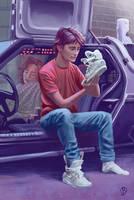 Back to the Future 2 by JoanRedondo