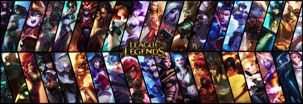 League of Legends Edited Splash arts on LeagueOfWallpapers ...