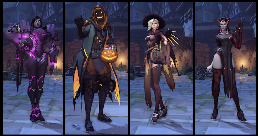 Overwatch's Halloween Skins is Available Now! by Overwatch-Ladies ...
