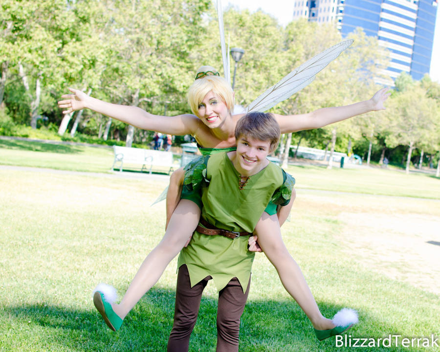 Peter and Tink by NovemberCosplay