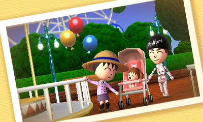 Tomodachi Life - Family Day Out by RenVortex
