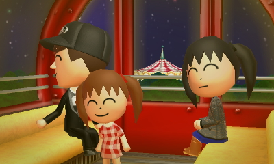 Tomodachi Life - Ferris Wheel with Family by RenVortex