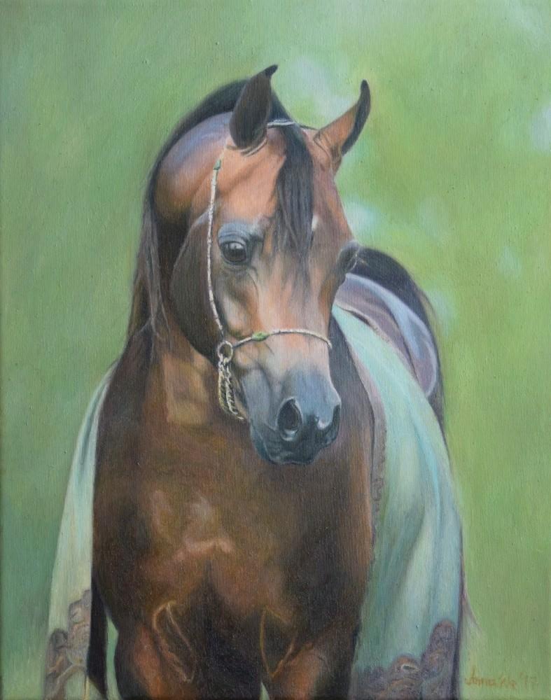 Portrait Arabian 3 by anna36