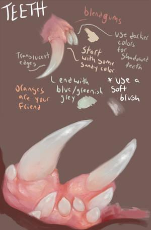 teeth tips by boarbarian