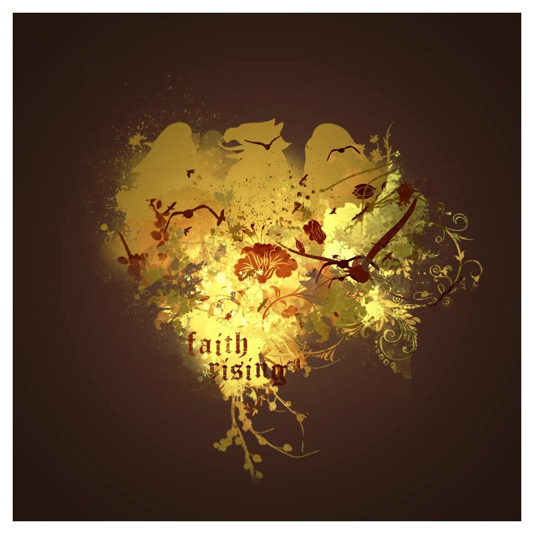 Faith Rising tee design by myargie22