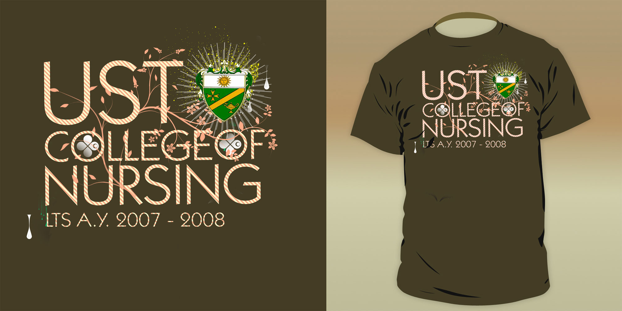 College Shirt Design Shirt Designs Ust College