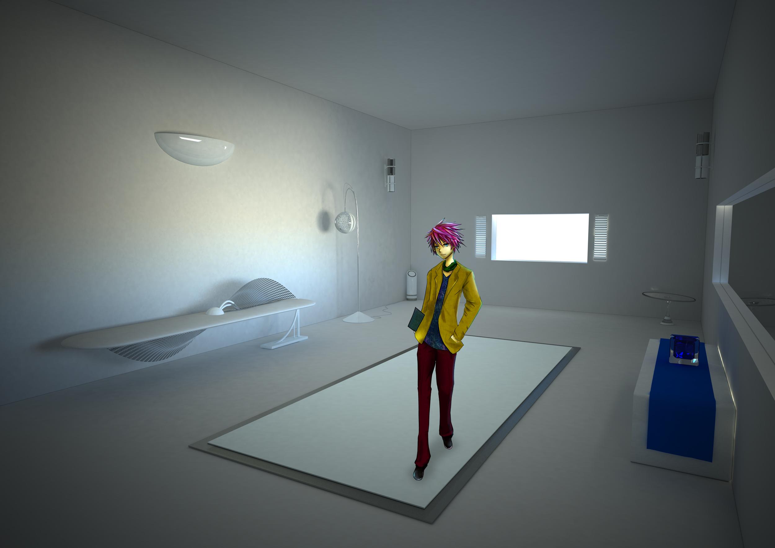 model room by Waterdroplet-s