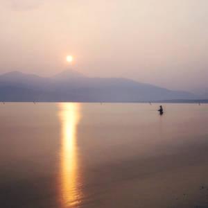 Sunrise in Karatsu