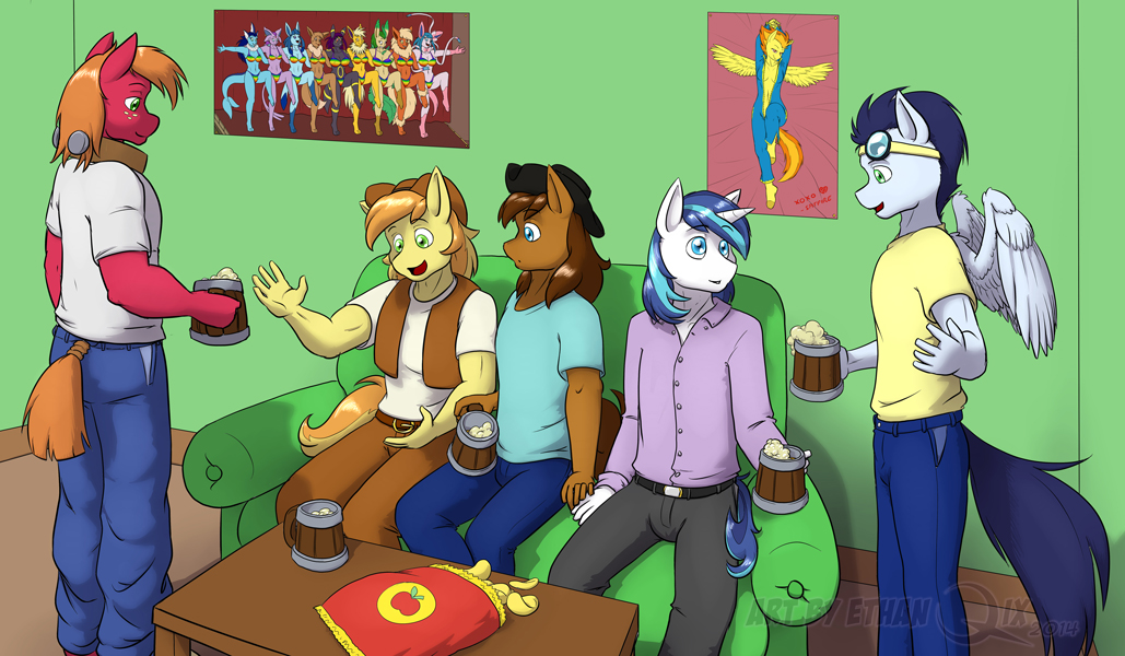 [Comm] Guys night in by EthanQix