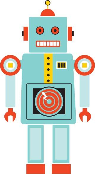 Cartoon Robot Toy : Tin toy robot by rhiled on deviantart