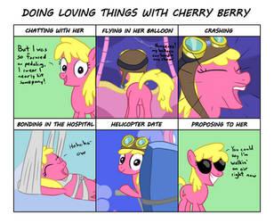 Cherry Berry Waifu Chart by varemiaArt