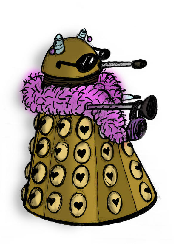 Gary  the Gay Dalek   color by di fw Related tags: live granny galleries, matre larsen, live granny galleries, ...