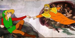 King Harkinian creates Link