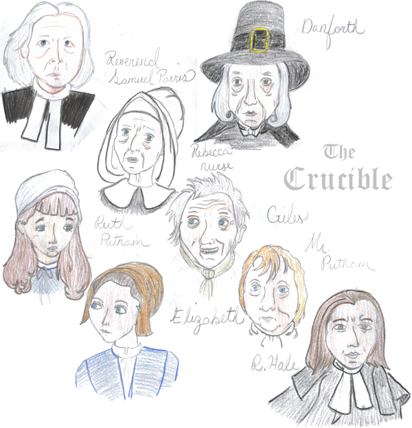 characters in the crucible