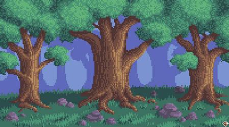 Dense Woods by Eternaios