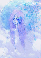Cosmic Girl by ainessa
