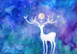 ~ Cosmic Deer ~ by ainessa
