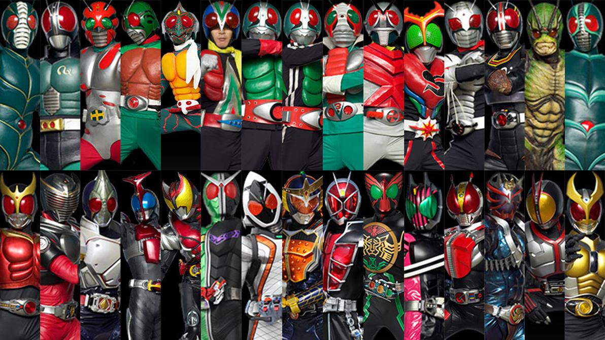仮面ライダー Kamen Raidā (Kamen Rider)