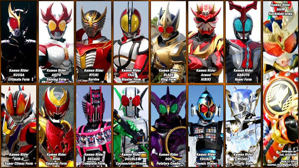 Heisei Riders' Final Forms... by nobuharuudou on DeviantArt