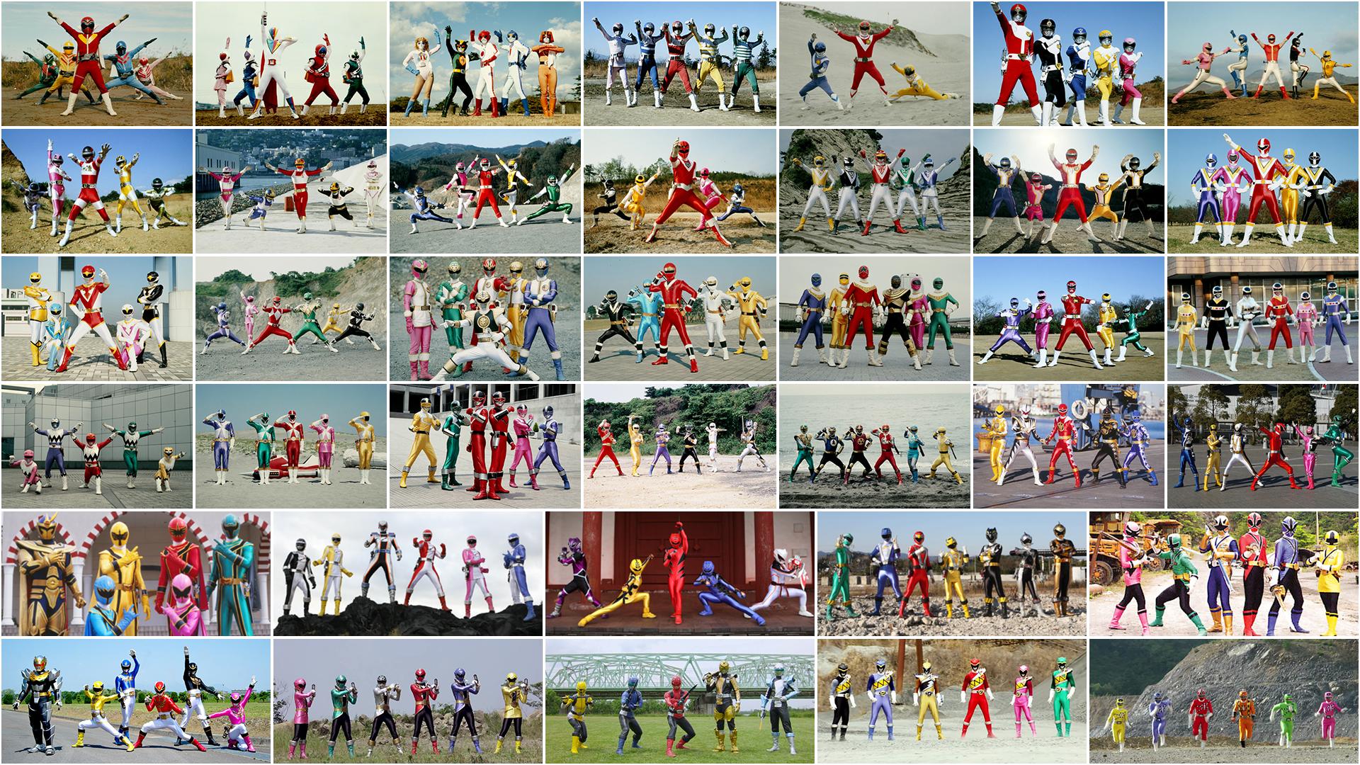 Super Sentai Teams by nobuharuudou