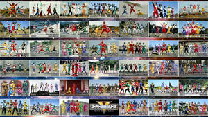 41 Sentai Teams (updated!) by nobuharuudou