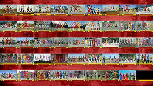 The 44 Super Sentai Teams... by nobuharuudou