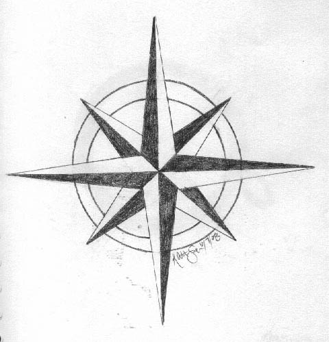 Compass Star for Next Tattoo by NovesterFinch on deviantART