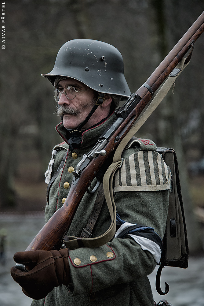 Estonian War of Independence soldier 1919 by aivarz