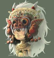 Barong Girl by PlainPaper