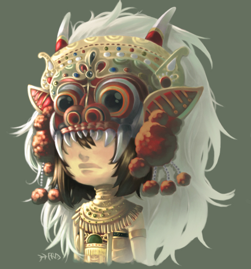 Barong Girl by PlainPaper