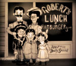 Robert's Lunch and Hamburger Steaks, 1905.