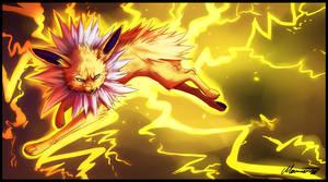 Lightning bolt by mourum