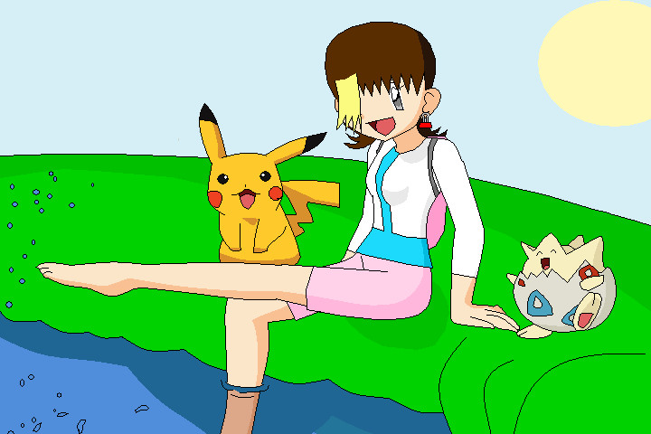 In The Pokemon World By Emikodo On Deviantart