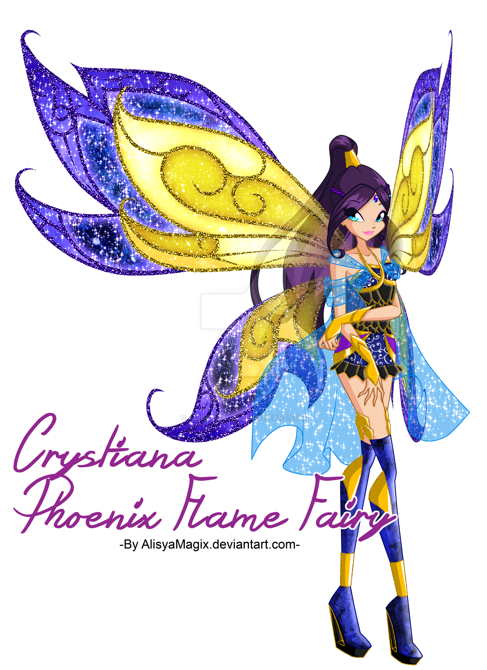 Crystiana bloomix by alisyamagix on deviantart - Winx magic bloomix ...